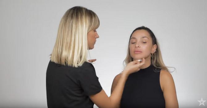 Čišćenje lica pre šmikanja