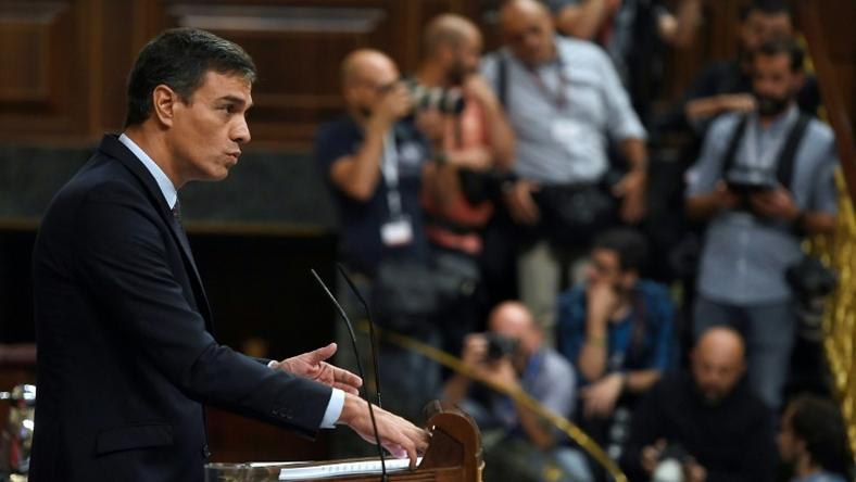 Acting Spanish prime minister Pedro Sanchez is still searching for backing to be able to form a new government