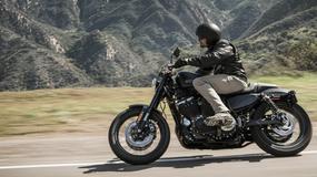 Motocykl Harley-Davidson Roadster - nowy członek rodziny Dark Custom