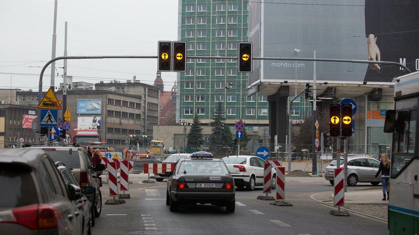 Komunikacyjne zmiany  w centrum Katowic