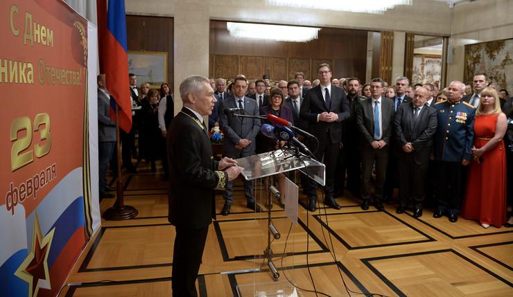 Svečani prijem u ruskoj ambasadi