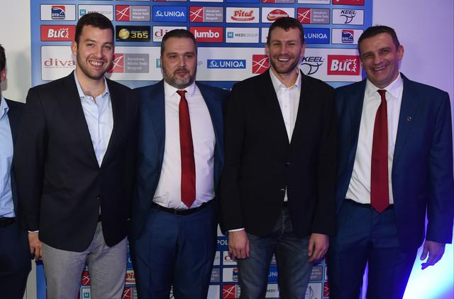 Filip Filipović, Nemanja Marjan, Branislav Mitrović i Viktor Jelenić