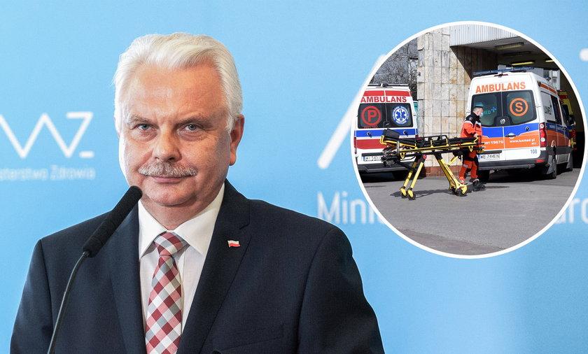 Pacjenci będą mieli wykonywane testy w karetkach, zapowiada wiceminister zdrowia Waldemar Kraska. Ratownicy medyczni będą korzystać z testów antygenowych, a wyniki zostaną wprowadzone do systemu.