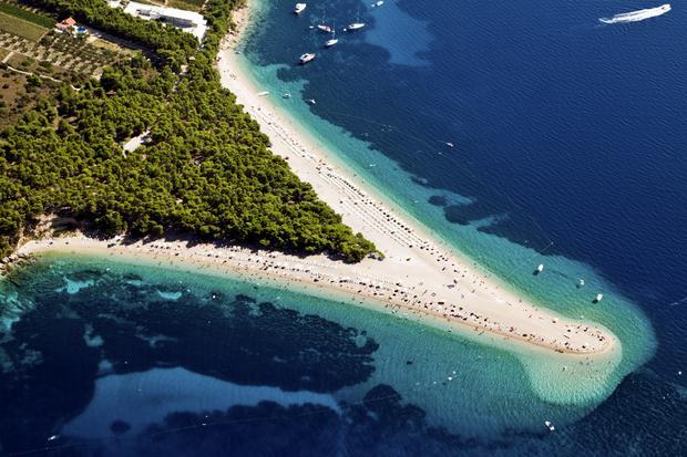Chorwacja, plaża Zlatni Rat (Złoty Róg)