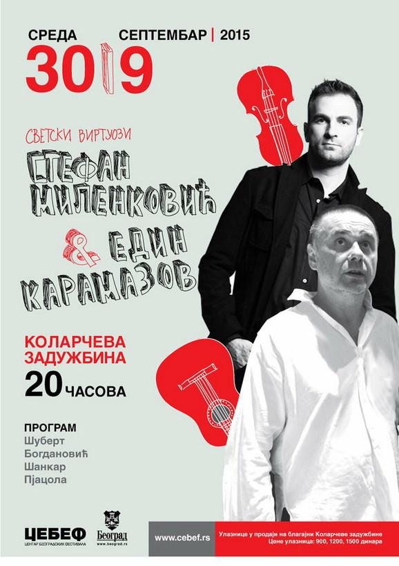Duo koji pomera granice: Milenković i Karamazov