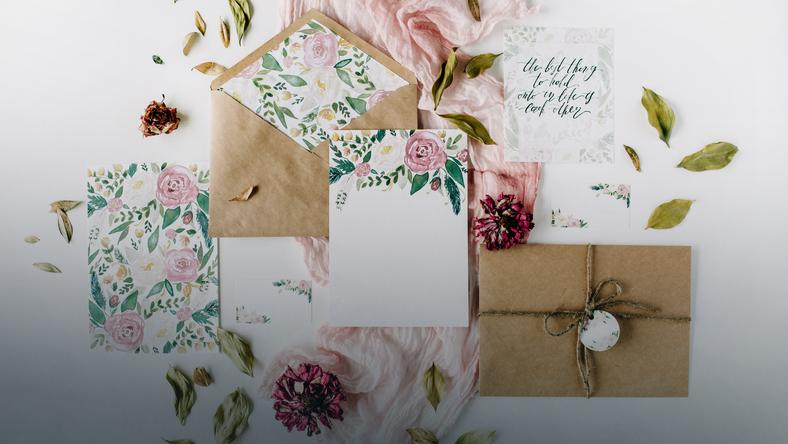Zaproszenia Na ślub Wzory I Treść Jaki Tekst Na Zaproszenie