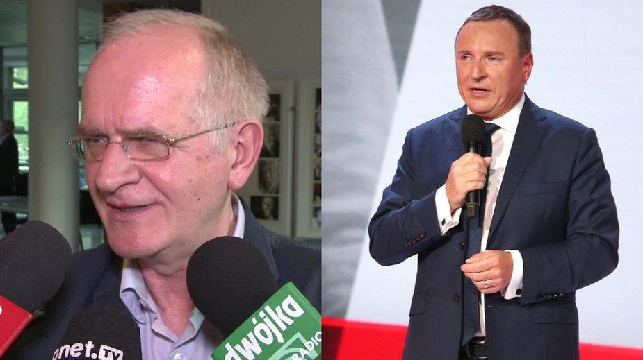Krzysztof Czabański (Onet, wideo własne) i Jacek Kurski