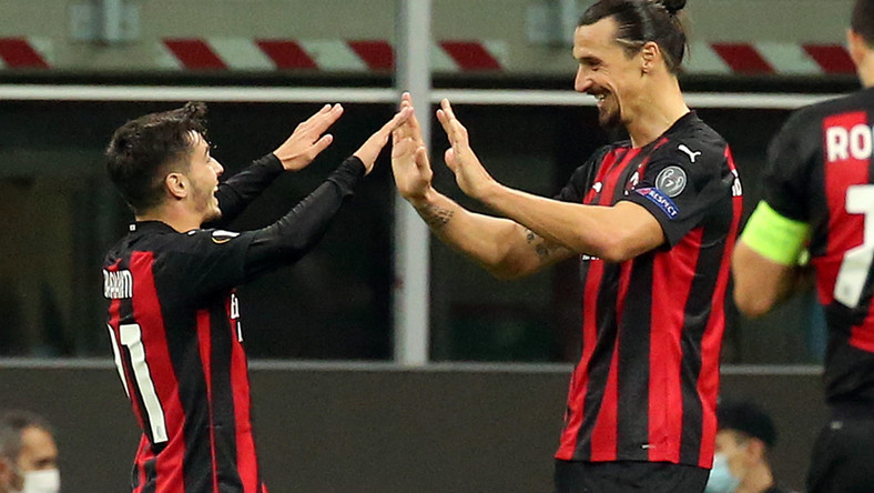 Brahim Diaz i Zlatan Ibrahimovic