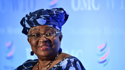 United States endorses Okonjo-Iweala for WTO Director General