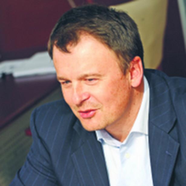Miroslav Rakowski, prezes Polskiej Telefonii Cyfrowej, operatora sieci T-Mobile; fot. Wojciech Górski