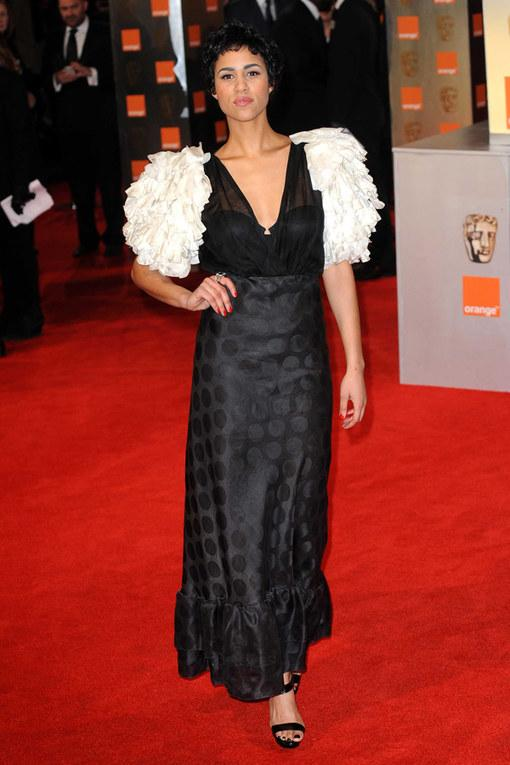 Zawe Ashton The Baftas 2012