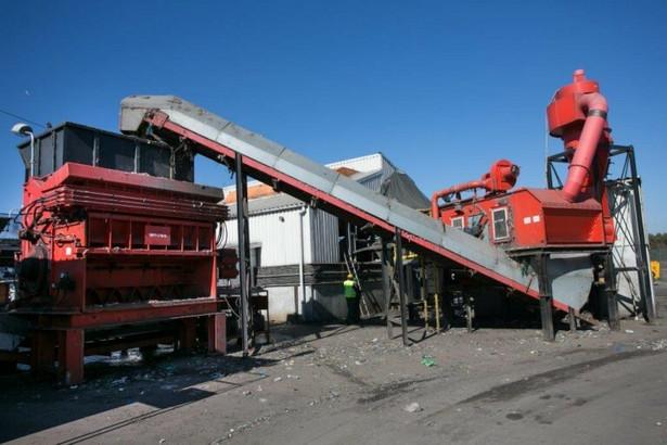 Linia do produkcji paliwa alternatywnego w ZPPA w Kozodrzy (fot. Justyna Przywara)