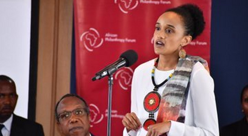 Uhuru, Margaret watch in admiration as daughter Ngina addresses youth unemployment forum