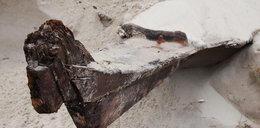 Wydmy odkryły wrak zabytkowej łodzi!