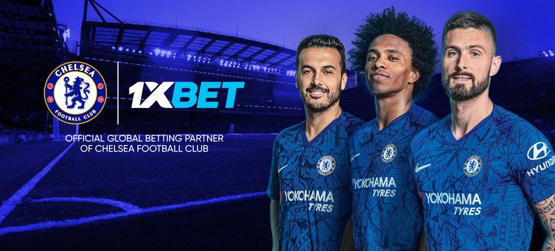 Chelsea FC teams up with 1xBet