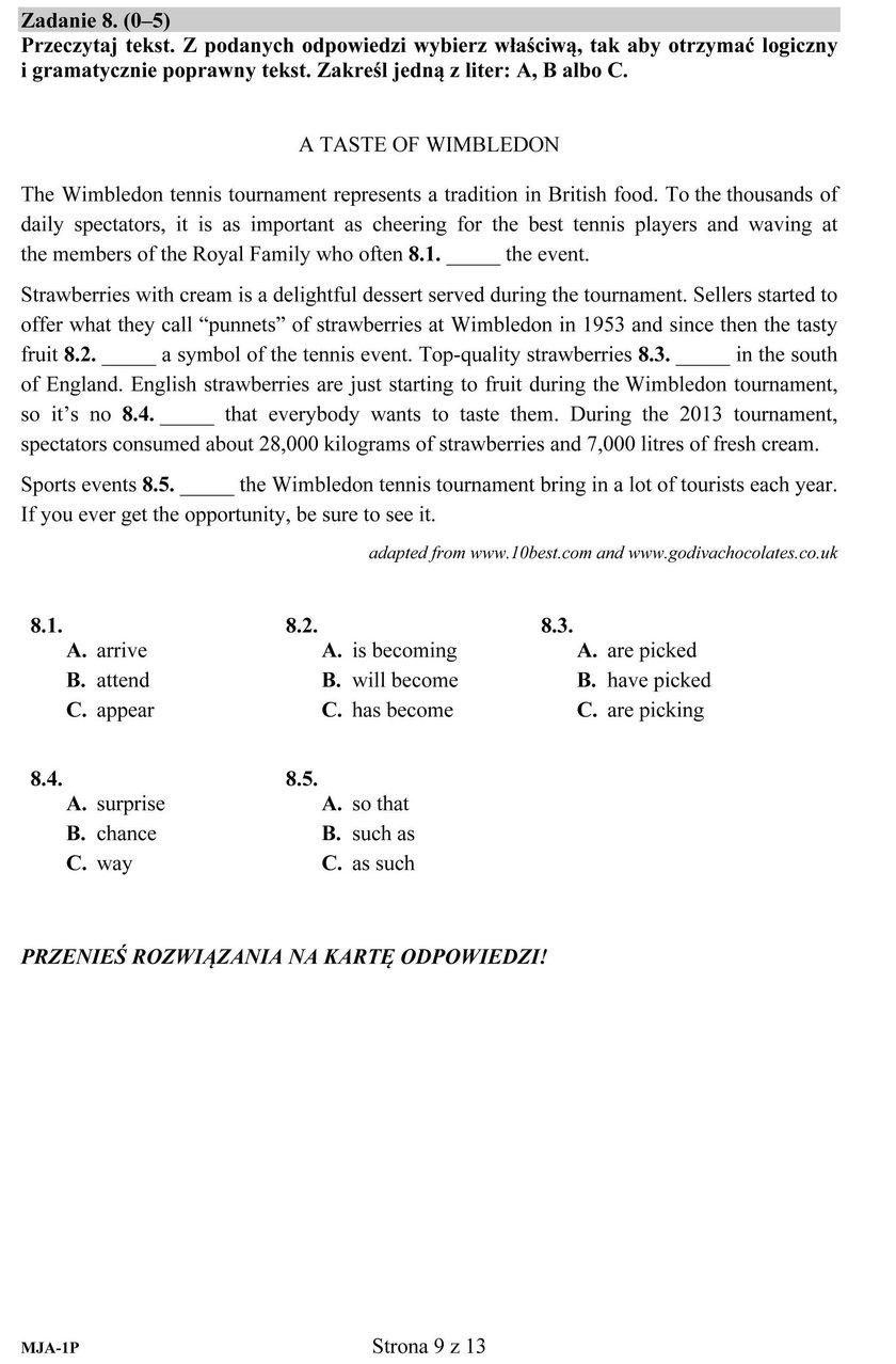 Matura 2018: Angielski. Odpowiedzi i Arkusze CKE. Język angielski [ODPOWIEDZI]