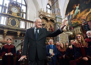 Andrzej Wajda honorowym obywatelem miasta Gdańska
