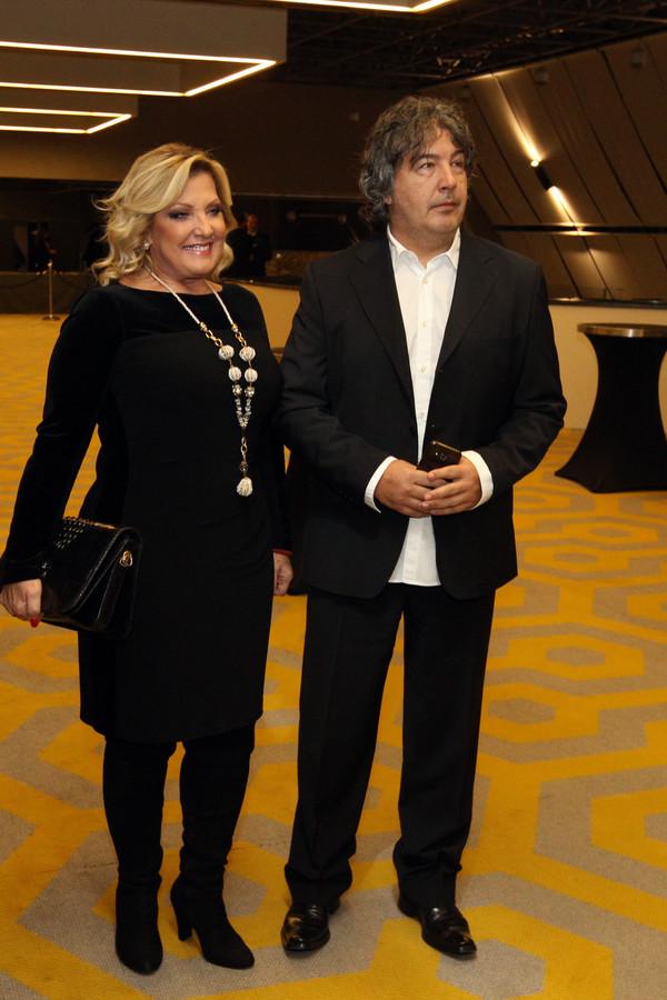 Snežana Đurišić sa partnerom