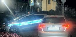 Kompletnie pijany parkował auto tuż przy policyjnym radiowozie. Nie udało się