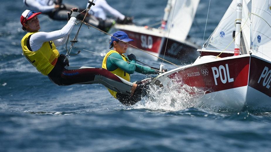 Jolanta Ogar-Hill i Agnieszka Skrzypulec zdobyły srebrny medal podczas igrzysk olimpijskich w Tokio