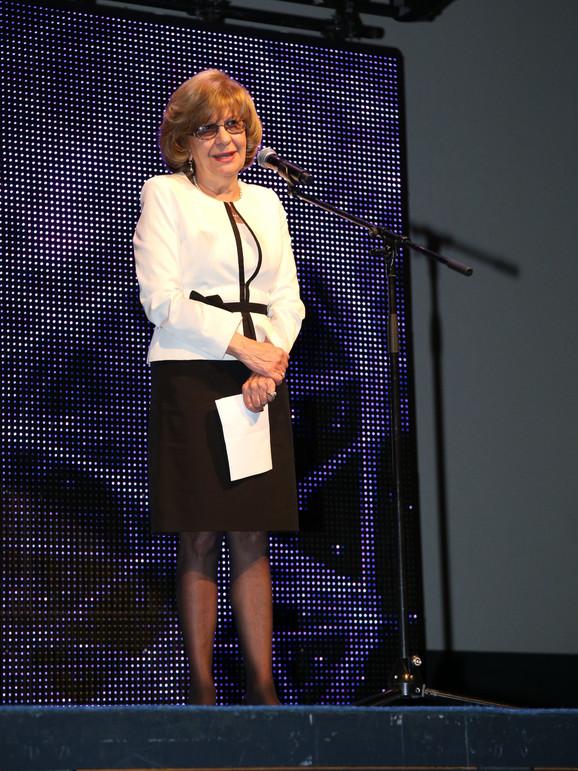 Lula Živojinović, nagradu primila u ime supruga
