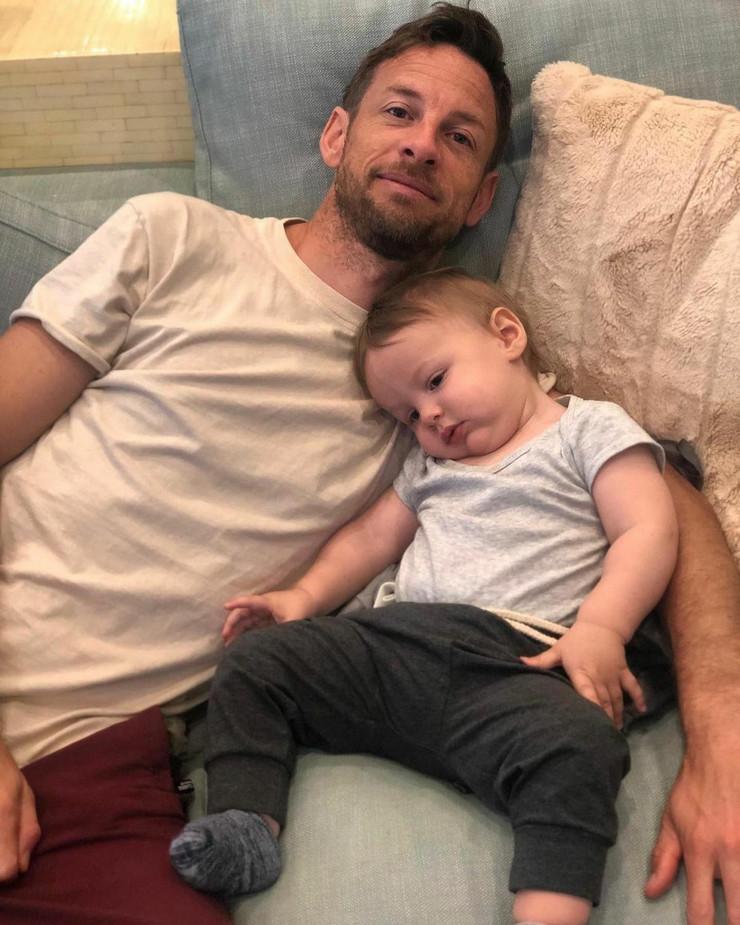 Dženson Baton i njegov sin Hendriks