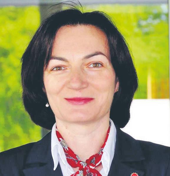 Anna Timofiejczuk, dziekan Wydziału Mechanicznego Technologicznego Politechniki Śląskiej  fot. materiały prasowe