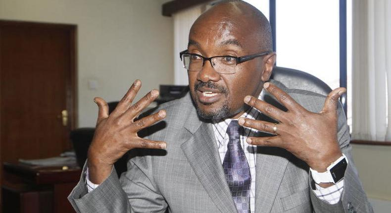 CUE chief executive officer Mwenda Ntarangwi during a past interview