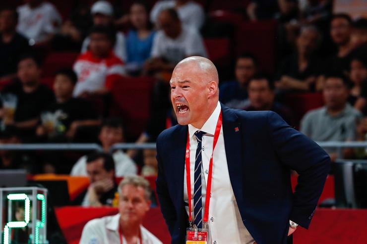 Trener Poljske Majk Tejlor