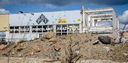 Na terenie byłego zakładu porcelany w Wałbrzychu zawaliła się ściana. Na szczęście nikt nie zginął