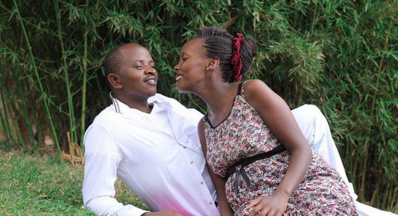 Konyu Ward MCA Eric Mwangi Wamumbi with wife Catherine Nyambura in a past photo shoot. Nyambura's body was retrieved from Hohwe Dam