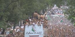 Zobacz jak Warszawa świętowała mistrzostwo