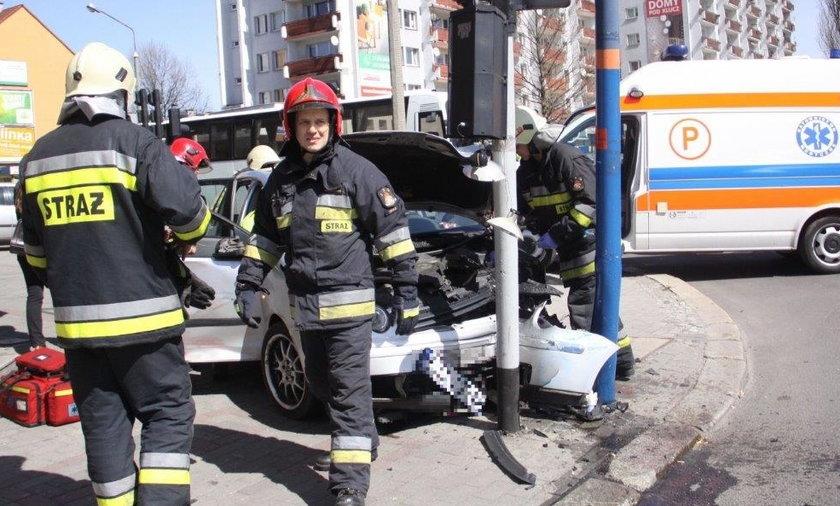 Wypadek w Opolu