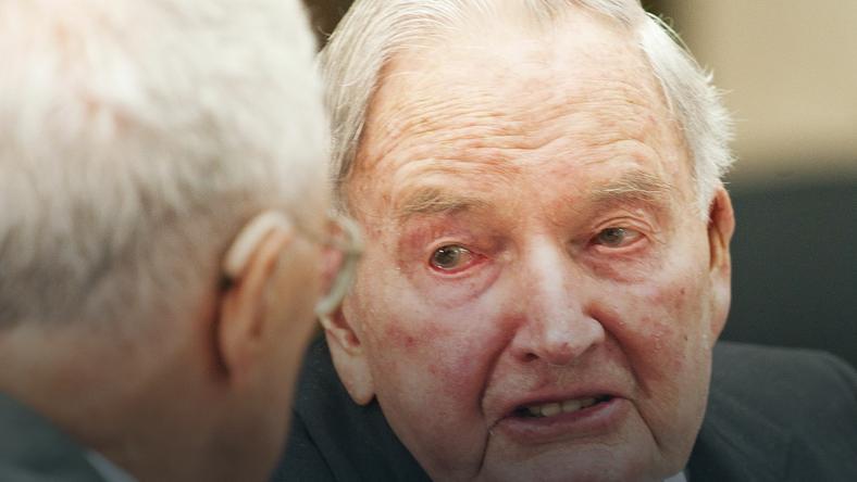 Miliarder David Rockefeller zmarł w wieku 101 lat