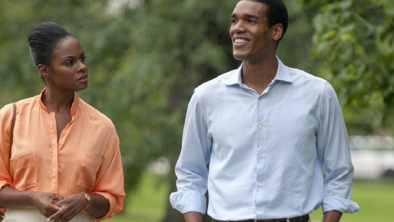 "Tika Sumpter i Parker Sawyers w filmie ""Southside With You"""