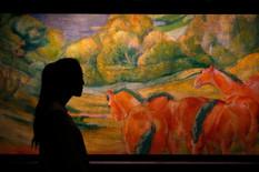 slika kristi06 Veliki pejzaž Franc Mark Grosse Landschaft 1 by Franz Marc foto reuters