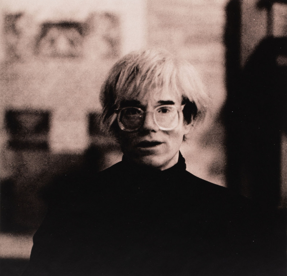 Andy Warhol (fot. Don Bierman)