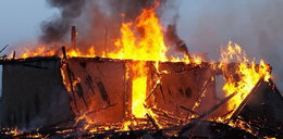 Pożar altany. Nie żyje mężczyzna