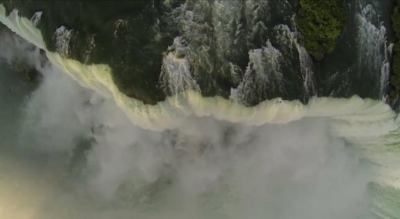 Nijagarini vodopadi iz ptičje perspektive