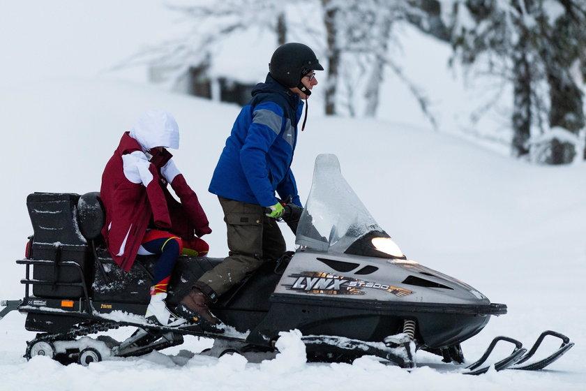 Oto zdjęcie z zawodów w Szwecji, gdzie Eliza Rucka zemdlała na trasie po raz pierwszy