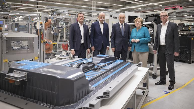 Fabryka akumulatorów Mercedesa