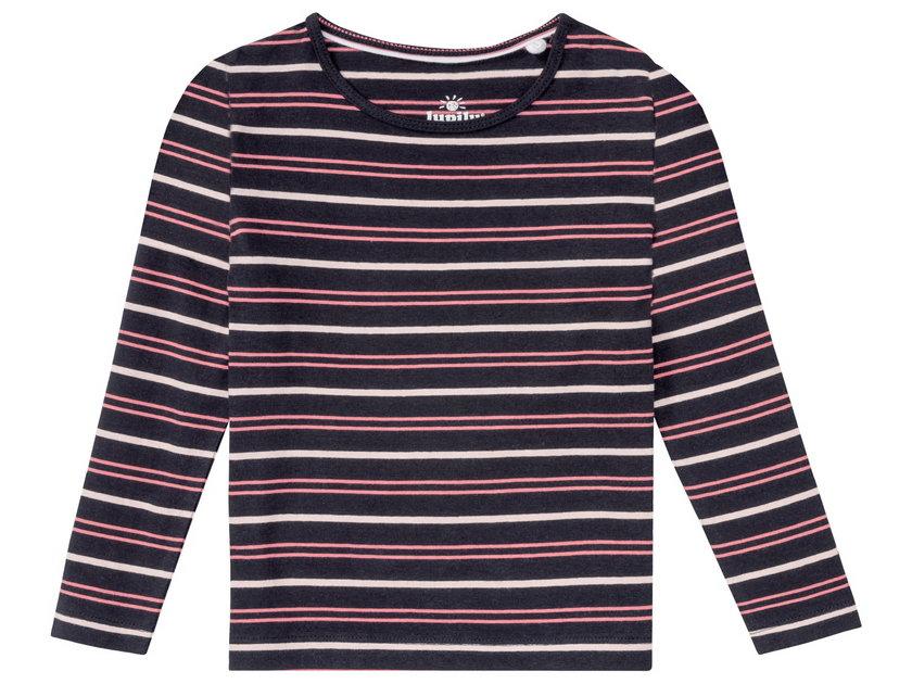 Lupilu, bluzka dziecięca 2-pak,rozm. 86-116