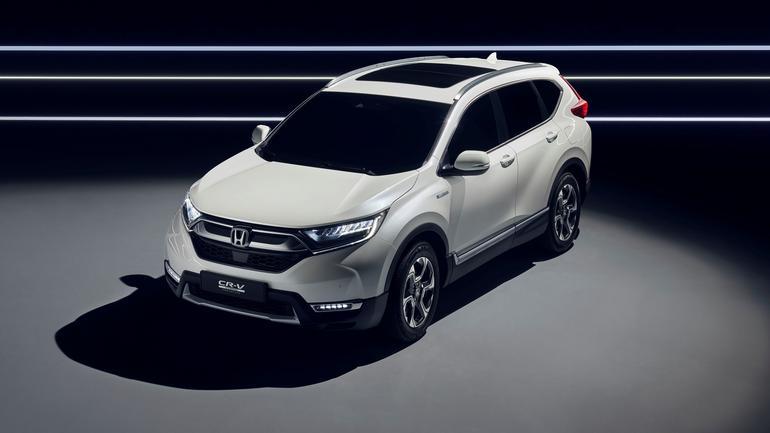 Honda CR-V Hybrid – prototyp