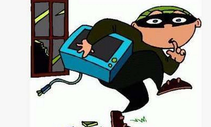 Piłkarz oskarżony o kradzież telewizora