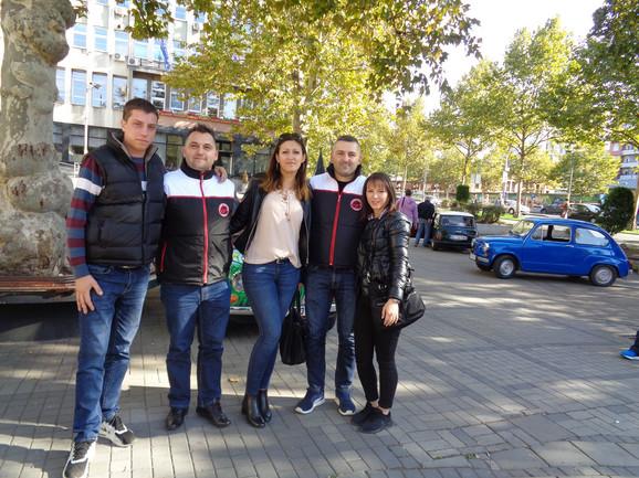 Nenad Pavlović sa prijateljima