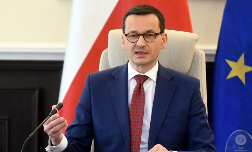 Premier rządu Mateusz Morawiecki