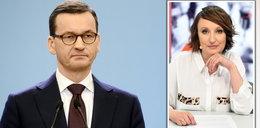 Burzyńska cytuje szokujące słowa polityka PiS o premierze Morawieckim [KOMENTARZ]