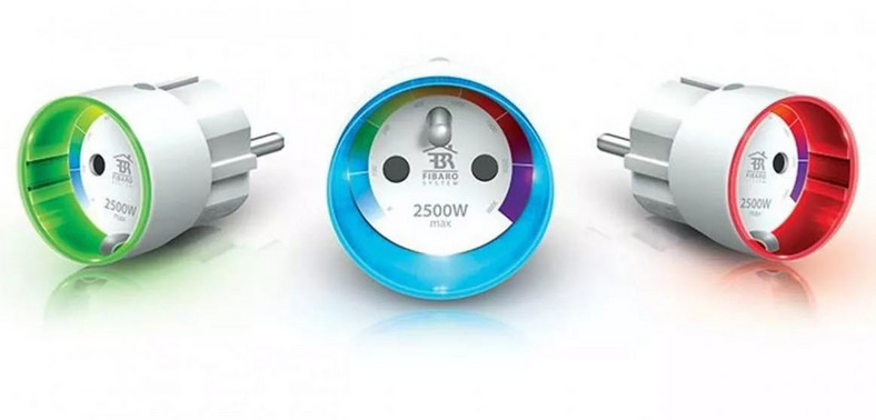 Smart-gniazdka Fibaro Wall Plug