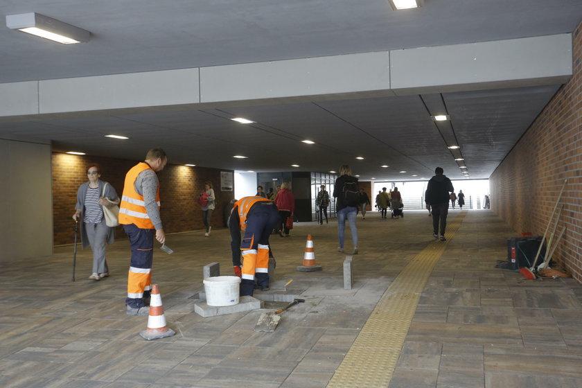 Tunel przy Forum Gdańsk