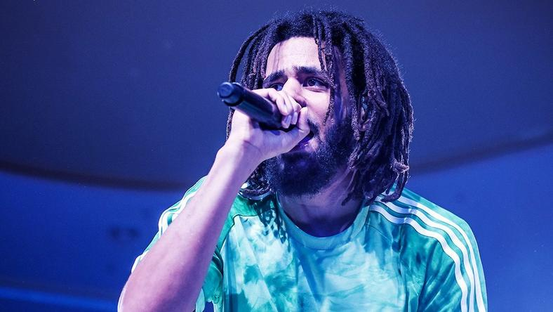 J Cole performing at the 2018 Castle Lite Unlocks Concert in Lagos [CastleLite]